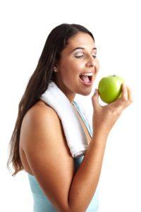 wie abnehmen - Äpfel sind gesund