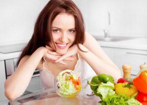 Abnehmen-mit-der Pfundskur-und-Salat