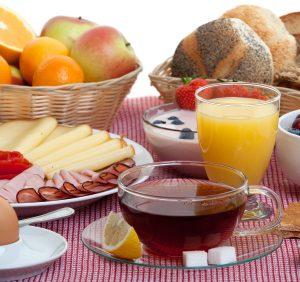 ausgiebig frühstücken bei der Schnitzel Diät